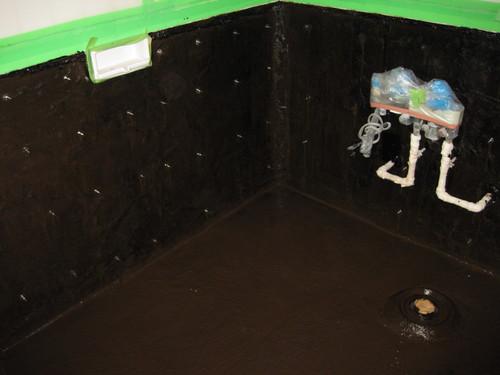 リゾートホテル浴室防水