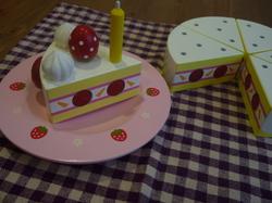 木のケーキ③.JPG