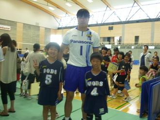 清水選手と創伊.JPGのサムネール画像のサムネール画像