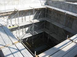 大規模排水処理場 重防食ライニング塗装