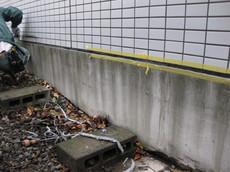 富士市 病院漏水対応工事