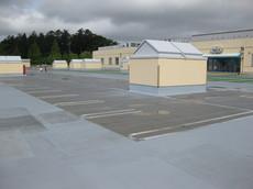 ショッピングセンター 屋上塗装工事